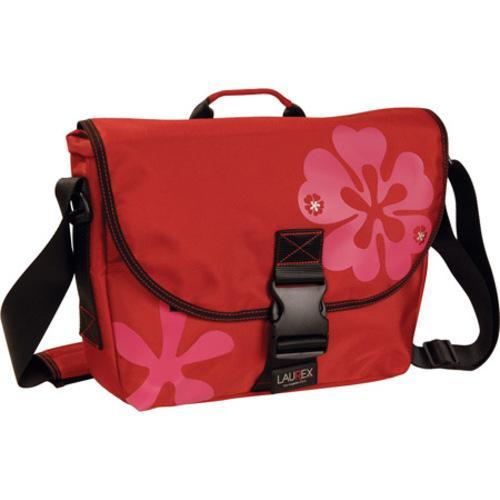 Women's Laurex Small Slim Messenger Bag Red Clover - Free Shipping ...