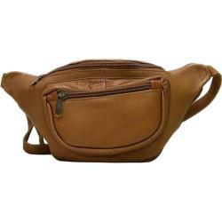 LeDonne AC-18 Tan Leather Waist Pack
