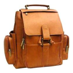 LeDonne 15-inch Tan Leather Backpack