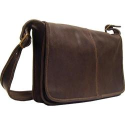 Latico 'Heritage' Cafe Leather Messenger Bag - Free Shipping Today ...