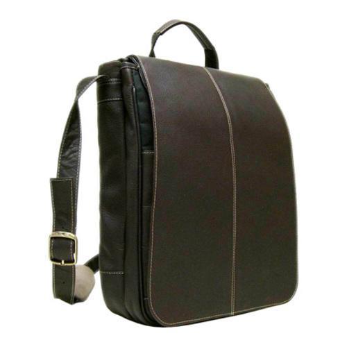 8682d7ea6ece LeDonne LD-902-R Cafe Vertical 15-inch Laptop Messenger Bag - Free ...