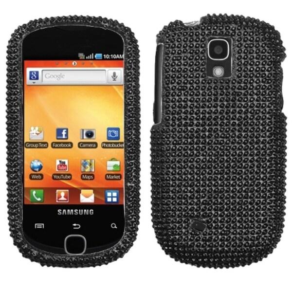 INSTEN Black Diamante 2.0 Phone Case Cover for Samsung T589 Gravity Smart