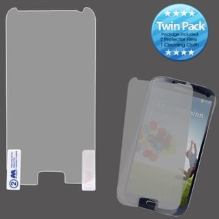 INSTEN Clear Screen Protector Twin Pack for Samsung Galaxy S IV/ S4