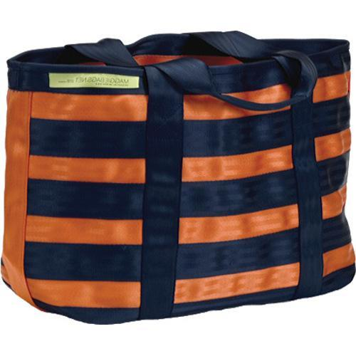 Women's Maggie Bags Tote of Many Colors Orange/Navy