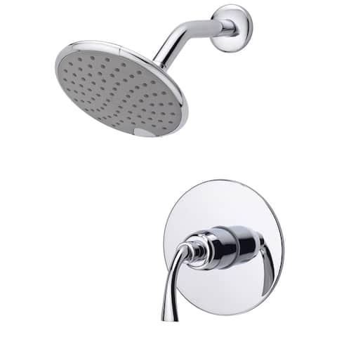 Fontaine Adelais Chrome Single Handle Shower Faucet with Valve