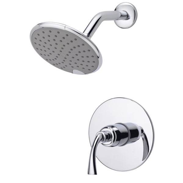 Shop Fontaine Adelais Chrome Single Handle Shower Faucet With Valve