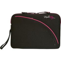 Men's Mobile Edge iPad 2/ 8.9in Sleeve Black/Pink