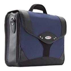 Men's Mobile Edge Premium Briefcase- 15.6inPC/17inMac Navy/Black