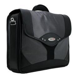 Men's Mobile Edge Premium Briefcase- 15.6inPC/17inMac Silver/Black
