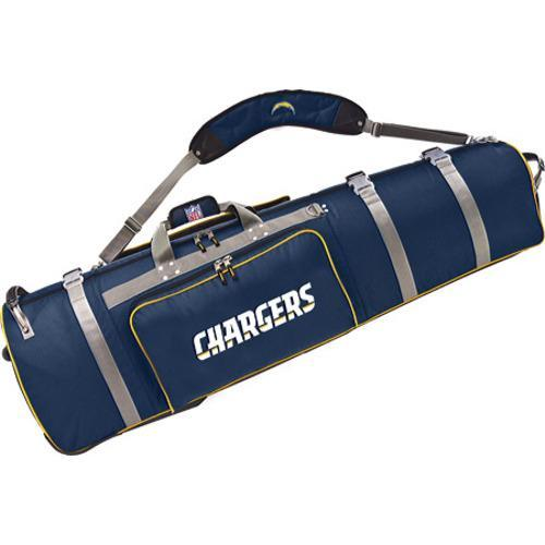 Men's NFL Luggage Wheeling Golf Travel Cover San Diego Chargers/Navy