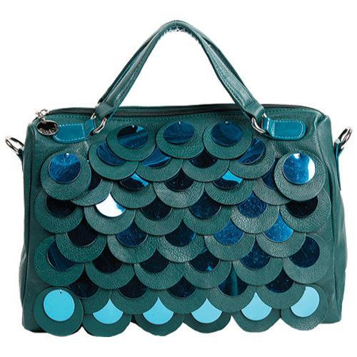 Women's Nicole Lee P2854 Emery Green (One Size) (leather,...