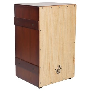 Handmade Vintage Burst Crate Box Cajon Drum (Indonesia)