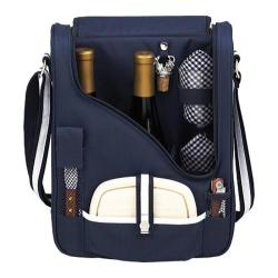 Picnic at Ascot Bold Pinot Wine and Cheese Cooler Navy/White