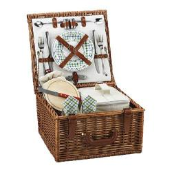 Picnic at Ascot Cheshire Basket for Two Wicker/Gazebo