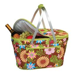 Picnic at Ascot Collapsible Insulated Basket Floral