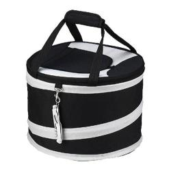 Picnic at Ascot Collapsible Picnic Cooler Black/Grey