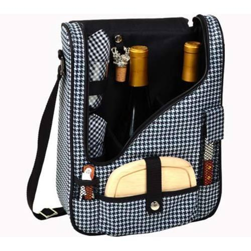 Picnic at Ascot Houndstooth Pinot Wine and Cheese Cooler Houndstooth - Thumbnail 1