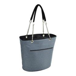 Picnic at Ascot Insulated Cooler Tote Houndstooth