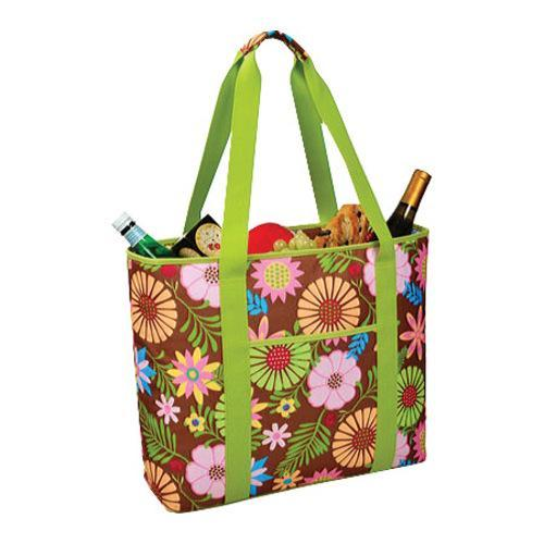 Picnic at Ascot Large Insulated Cooler Tote Floral