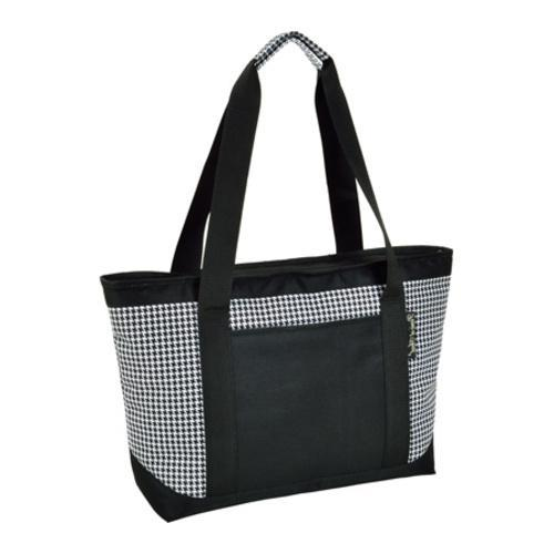 Picnic at Ascot Large Insulated Tote Houndstooth (One Siz...