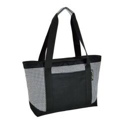Picnic at Ascot Large Insulated Tote Houndstooth