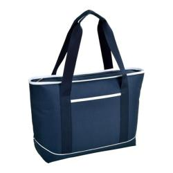 Picnic at Ascot Large Insulated Tote Navy/White