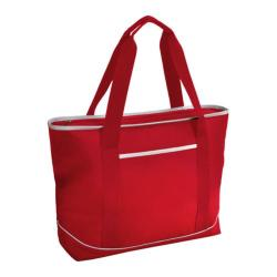Picnic at Ascot Large Insulated Tote Red/White