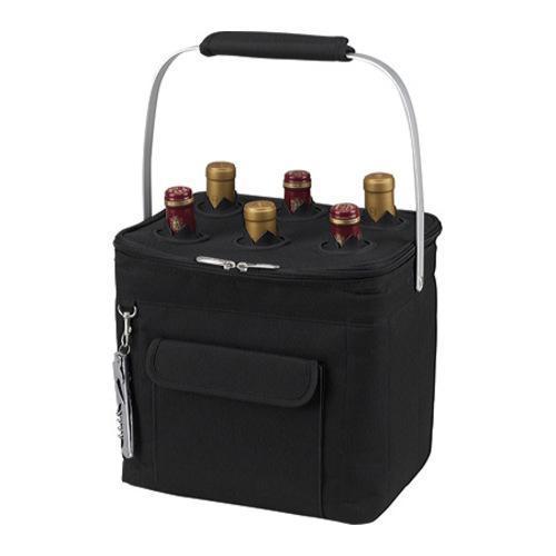 Picnic at Ascot Multi Purpose Drinks Carrier Black