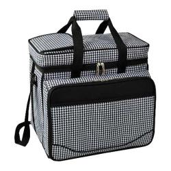 Picnic at Ascot Picnic Cooler for Four Houndstooth