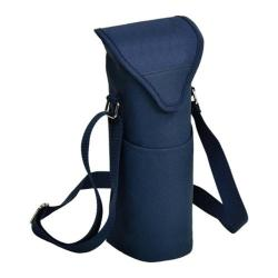 Picnic at Ascot Single Bottle Tote 13in Navy