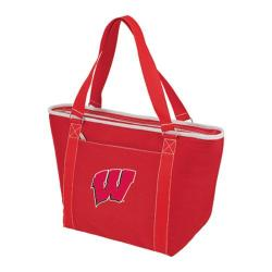 Picnic Time Topanga Wisconsin Badgers Embroidered Red