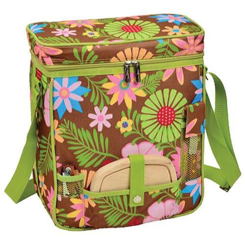 Picnic at Ascot Wine and Cheese Cooler Floral (One Size),...