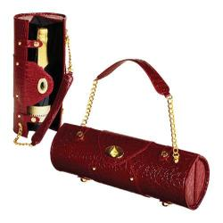 Women's Wine Carrier/Purse Burgundy