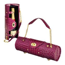 Women's Wine Carrier/Purse Purple
