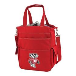 Picnic Time Activo Wisconsin Badgers Red