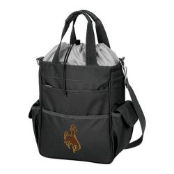 Picnic Time Activo Wyoming Cowboys Black