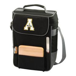 Picnic Time Duet Appalachian State Mountaineers Embroidered Black/Grey