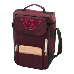 Picnic Time Duet Virginia Tech Hokies Embroidered Burgundy
