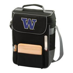 Picnic Time Duet Washington Huskies Embroidered Black/Grey