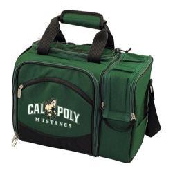 Picnic Time Malibu Cal Poly Mustangs Print Hunter Green