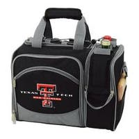 Picnic Time Malibu Texas Tech Red Raiders Print Black