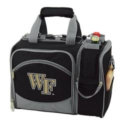 Picnic Time Malibu Wake Forest Demon Deacons Embroidered Black