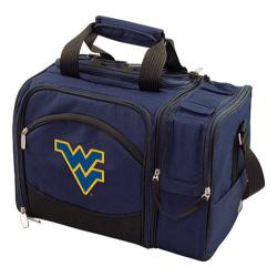 Picnic Time Malibu West Virginia U Mountaineers Embroidered Navy