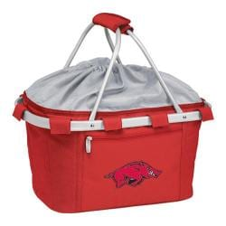 Picnic Time Metro Basket Arkansas Razorbacks Embroidered Red