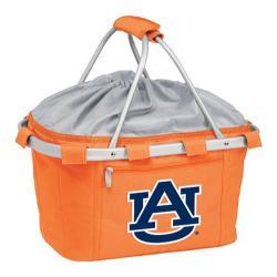 Picnic Time Metro Basket Auburn University Tigers Print Orange