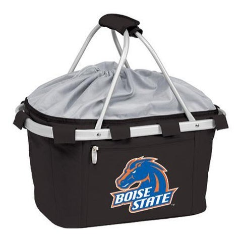 Picnic Time Metro Basket Boise State Broncos Print Black