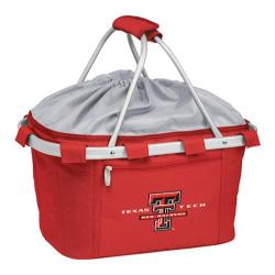Picnic Time Metro Basket Texas Tech Red Raiders Embroidered Red