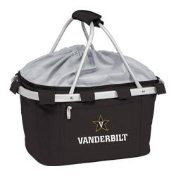 Picnic Time Metro Basket Vanderbilt University Commodores Emb Black