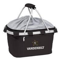 Picnic Time Metro Basket Vanderbilt University Commodores Emb Black