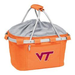 Picnic Time Metro Basket Virginia Tech Hokies Print Orange